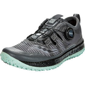 saucony Switchback ISO Zapatillas Mujer, gris/rosa